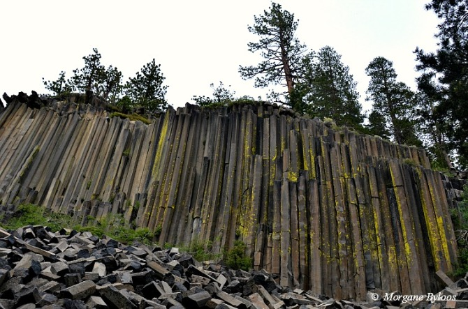 La photo du mois: Devil's Postpile