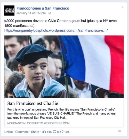 Francophones à San Francisco