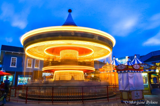 La photo du mois: Pier 39 carousel