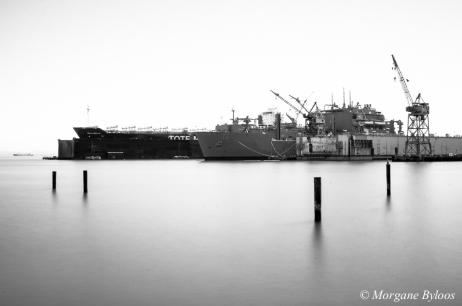 Pier 70 dry docks