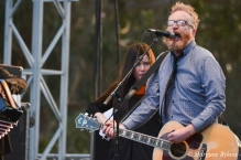 Flogging Molly: Dave King and Bridget Regan