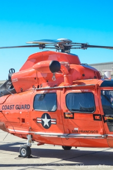 UAL Family Day: Coast Guard Helicopter