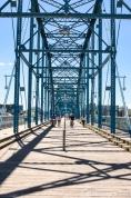 Chattanooga, TN - Walnut Street Bridge