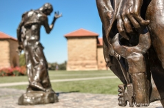 Stanford - The Burghers of Calais - Auguste Rodin