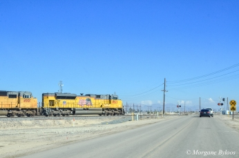 On the way to Slab City, CA