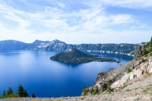 Crater Lake - View from Rim Drive