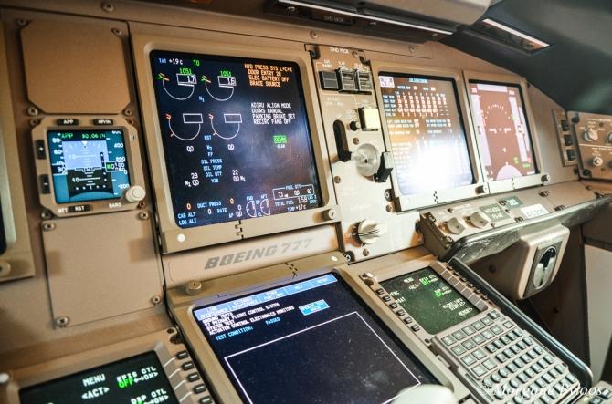 La photo du mois: 777-300ER cockpit