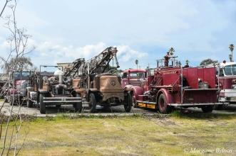 Treasure Island - old fire trucks