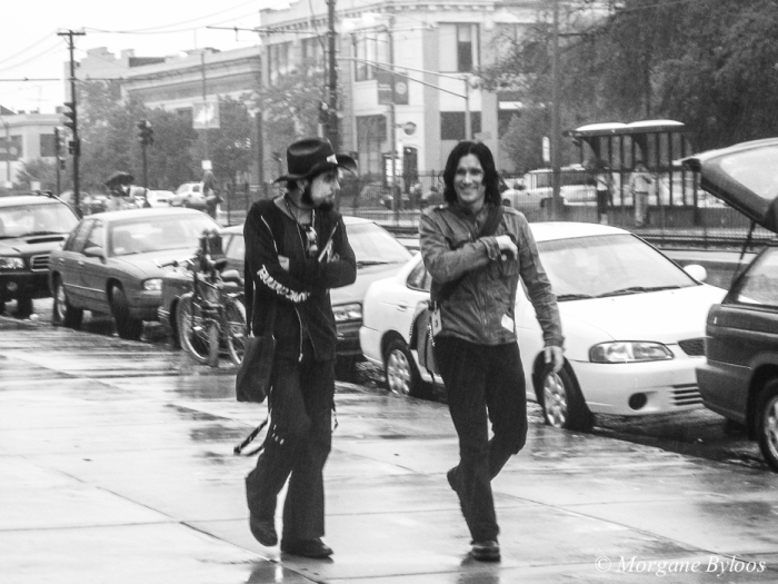 Dave Navarro (left) and Steve Isaacs (right) - The Panic Channel