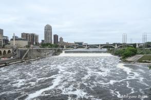 Minneapolis: Mississippi River from Stone Arch Bridge