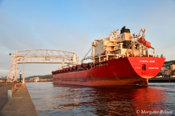 Federal Rhine coming into Duluth Harbor Basin