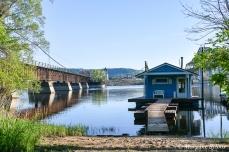 Winona, MN: Latsch Island houseboat