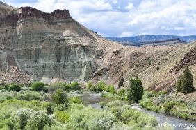 John Day Fossil Beds: Cathedral Rock