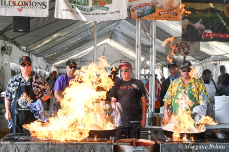 40th Gilroy Garlic Festival - the Pyro Chefs