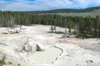 Yellowstone: Sulfur Caldron