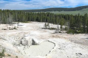 Yellowstone: Sulfur Caldron