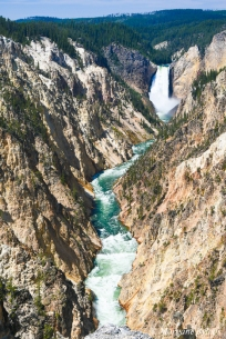 Grand Canyon of the Yellowstone from Artist's Point