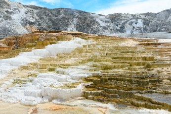 Yellowstone - Mammoth Hot Springs Terraces
