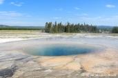 Yellowstone: Midway Geyser Basin - Opal Pool