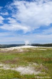 Yellowstone - Old Faithful before the eruption