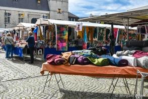 Hulst, Netherlands -Stoffenmarkt at Grote Markt