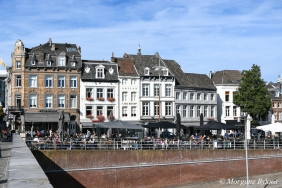 Maastricht from the Saint Servatius Bridge