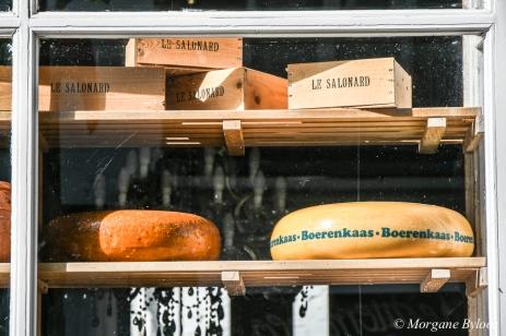 Maastricht - Boerenkaas in a window