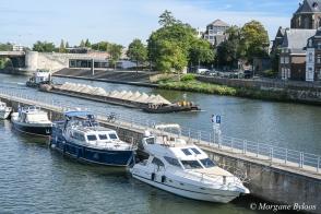 Maastricht from the Saint Servatius Bridge