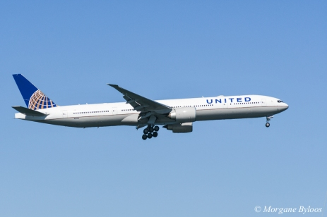 Fleet Week 2018: United Airlines 777 fly-by