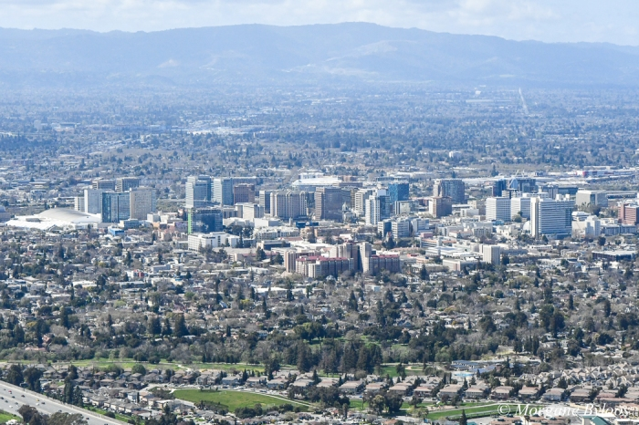San Jose from the sky