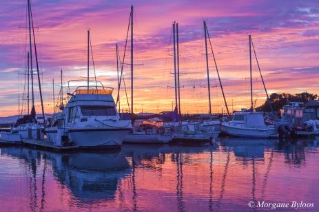 South San Francisco sunrise