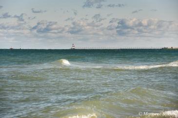 Indiana Dunes NP: Michigan City East Pierhead Lighthouse