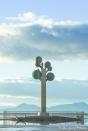 Tree of Life (The Tree of Utah) at Great Salt Lake, Utah - I-80