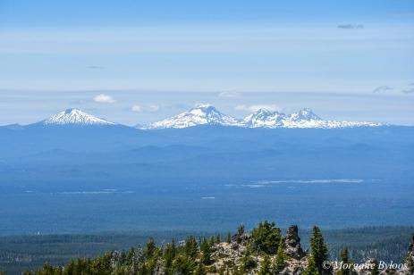Deschutes National Forest - Newberry National Volcanic Monument - Paulina Peak