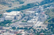Coors Brewery from Lookout Mountain