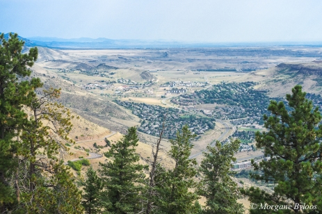 Golden, CO from Lookout Mountain