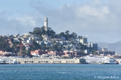 Boat Haul from SSF to Richmond - Coit Tower